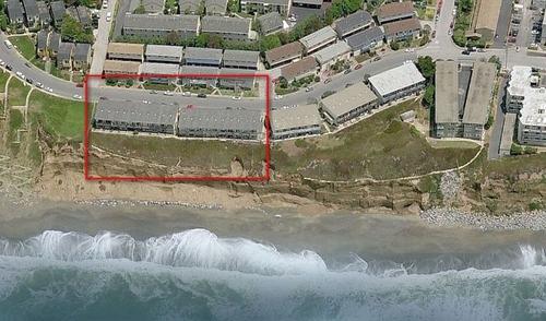 【画像】海沿いの崖が崩れて崩落中のカリフォルニアの町が怖すぎる!!の画像(3枚目)