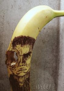 【画像】バナナに絵を描くアートがさらに進化しているwwの画像(6枚目)
