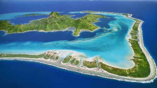 【画像】地上最後の楽園と呼ばれている「ボラボラ島」の絶景!の画像(3枚目)