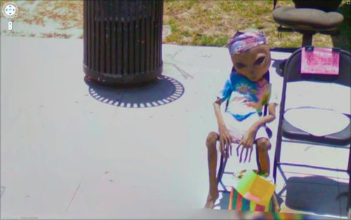 Googleストリートビューが捉えたカオスな面白い風景の写真の数々!!の画像(17枚目)