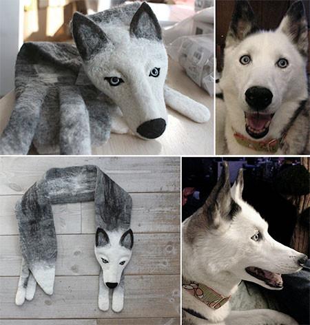 動物をモチーフにしたスカーフの画像(11枚目)