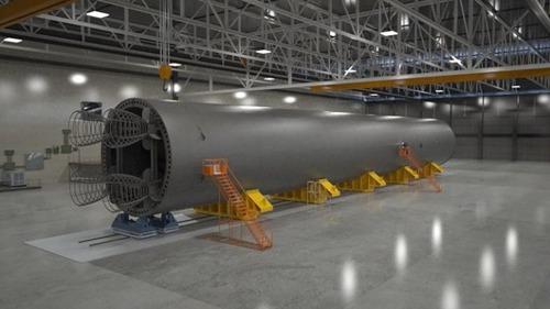 スペースシャトルの燃料タンクの画像(3枚目)