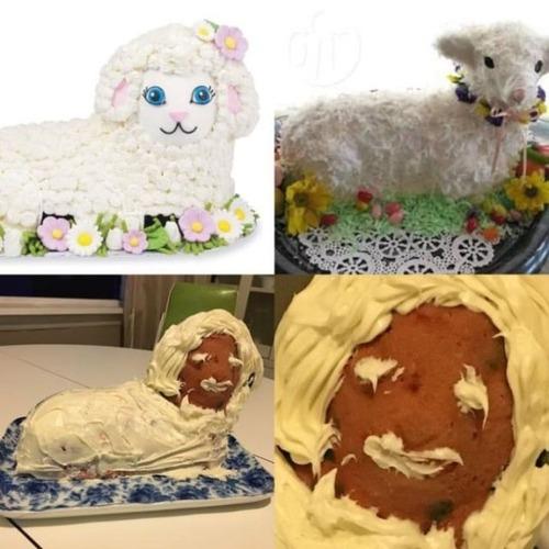 作ったお菓子と成功例の比較の画像(4枚目)