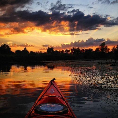 カヤック(カヌー)に乗る理由がわかる川沿いの風景の画像の数々!!の画像(18枚目)