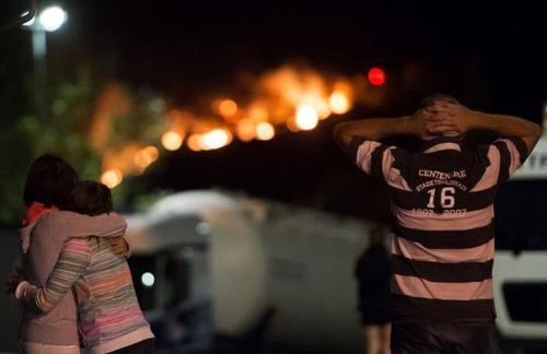 フランスのマルセイユの山火事の画像(7枚目)