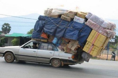 運搬している自動車の画像(8枚目)