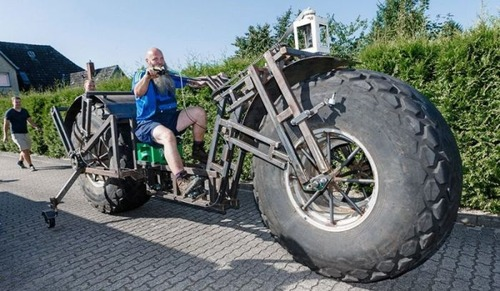 世界一重い自転車の画像(1枚目)