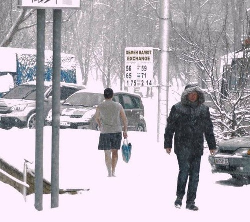 海外の凄まじい冬の寒さの画像(50枚目)