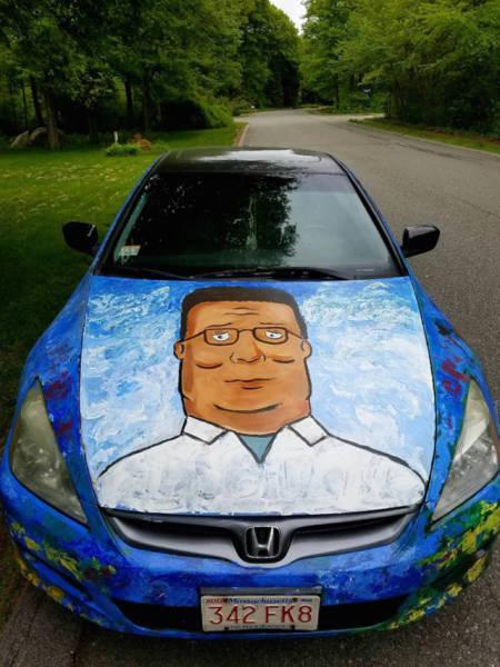 【画像】とりあえず目を引く!かっこ良かったり悪かったりする自動車のカスタム!!の画像(8枚目)