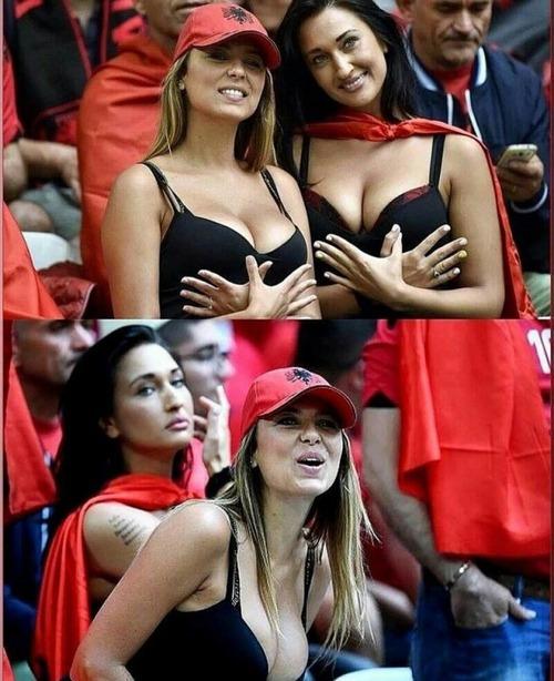 綺麗なサッカーのサポーターのお姉さんの画像の数々!!の画像(27枚目)