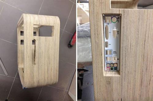 【画像】木製のパソコンケースを自作!カッコよくて落ち着いた木製パソコン!!の画像(10枚目)