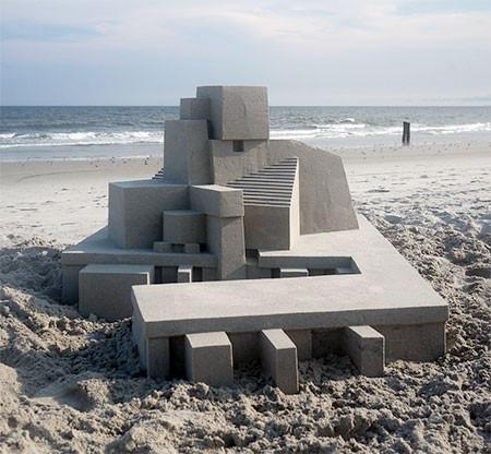 砂で作られた近代的なお城のアートの画像の数々!!の画像(6枚目)