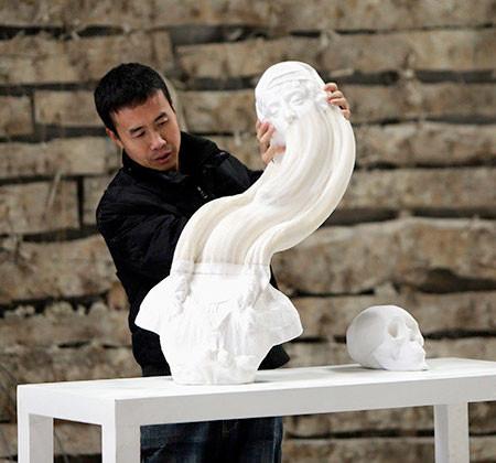 【画像】伸びたり縮んだり!スーパーカオス彫像アートの数々!!の画像(9枚目)