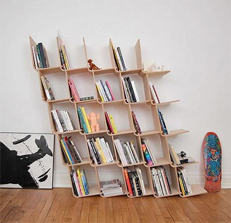 どんどん増やしてどんどん減らせる!超便利そうな本棚が凄い!!の画像(6枚目)