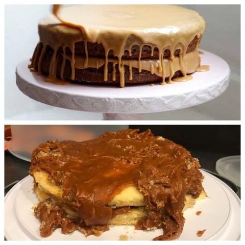 作ったお菓子と成功例の比較の画像(2枚目)