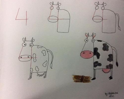 数字から動物ができる!そんなほのぼのした画像!!の画像(16枚目)