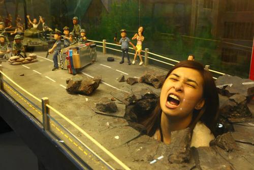 いっしょに撮れば面白い!3Dアートで遊ぶ人たちの画像!の画像(13枚目)