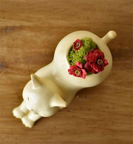 植木鉢で癒される!かわいい動物のプランターの画像の数々!!の画像(9枚目)