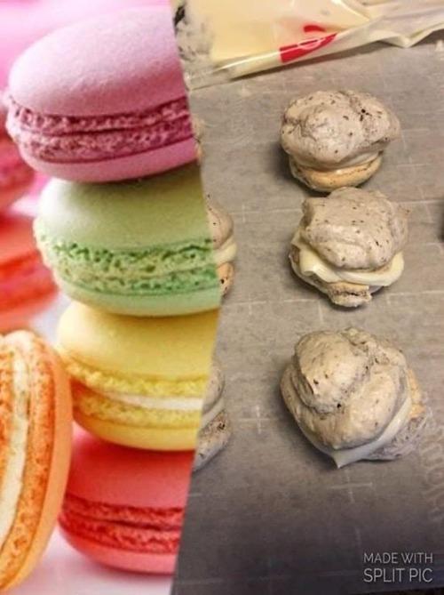 作ったお菓子と成功例の比較の画像(15枚目)