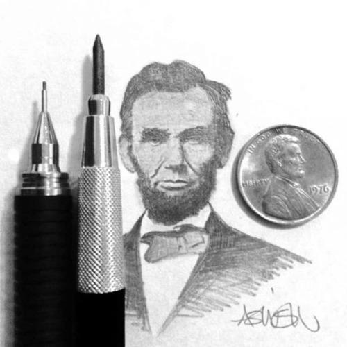 鉛筆やシャーペンで描いた小さいけど凄いクオリティの画像の数々!!の画像(13枚目)