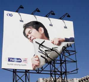 一度見たら忘れられない面白い広告の画像の数々の画像(2枚目)