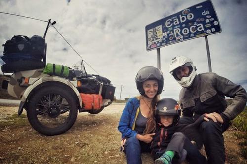 【画像】1台のバイクで家族3人が41カ国を4ヶ月で制覇!!の画像(17枚目)