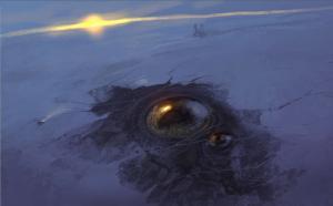 幻想的でドキドキする超巨大生物の壁紙!の画像(15枚目)