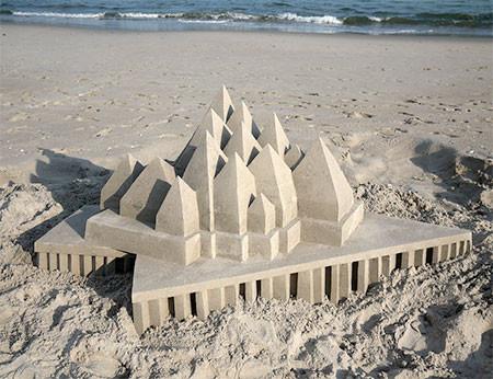 砂で作られた近代的なお城のアートの画像の数々!!の画像(13枚目)