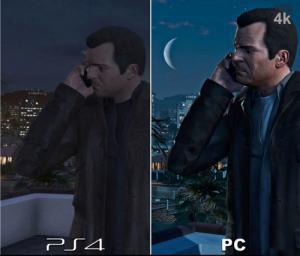 PS4とパソコンのグラフィックを同じゲームで比較した結果!!の画像(9枚目)