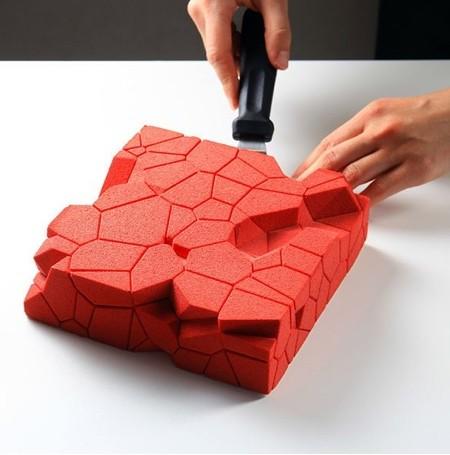 幾何学模様の不思議なケーキ03