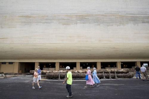 実物大の『ノアの箱舟』の画像(16枚目)