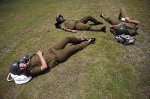 可愛いけどたくましい!イスラエルの女性兵士の画像の数々!!の画像(70枚目)