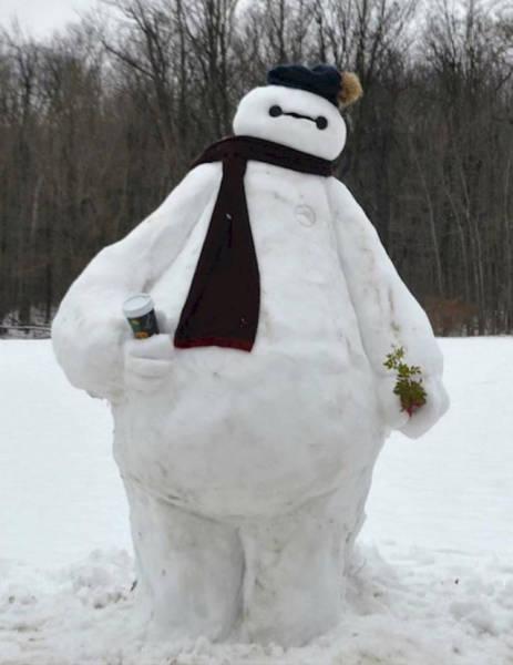 【画像】海外の雪祭りとか色々な雪像がやっぱ海外って感じで面白いwwwの画像(5枚目)