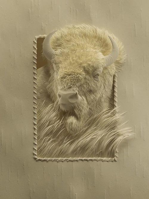 【画像】普通の紙で作る動物のペーパー・カッティング(切り絵)が凄い!!の画像(9枚目)