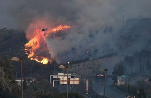 フランスのマルセイユの山火事の画像(22枚目)