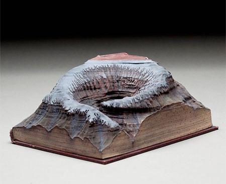【画像】分厚い本が絶景になる!本を使ったアートが凄い!!の画像(6枚目)