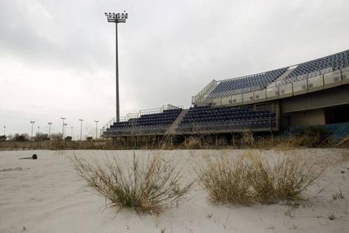 アテネのオリンピックの競技場の現在の画像(4枚目)