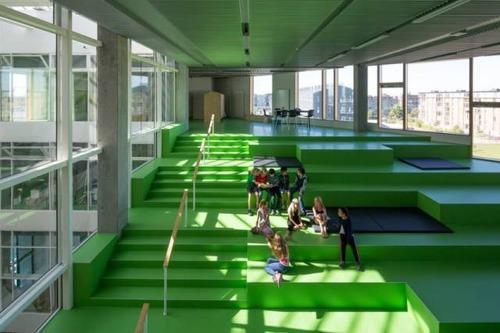 【画像】コペンハーゲンの小学校が子供の秘密基地のよう!!の画像(7枚目)