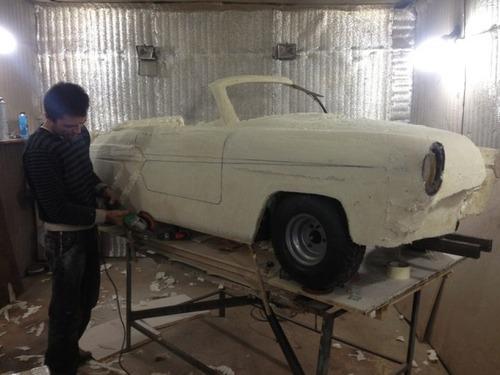 【画像】職人が本気で作った子供用の自動車が凄いwwwの画像(7枚目)