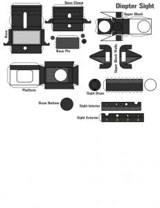 アサルトライフルHK416のペーパークラフトが凄すぎる!!の画像(49枚目)