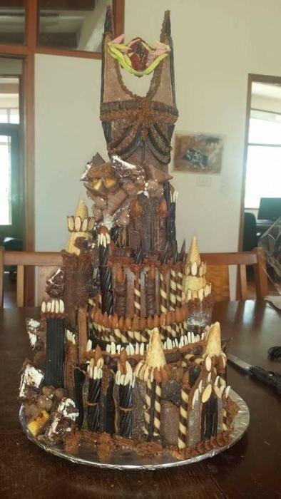 【画像】お菓子でできた家やジオラマが凄い!!の画像(15枚目)