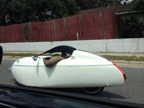 もはや職人技!?自動車やバイクで凄いものを運んでる画像の数々!!の画像(4枚目)