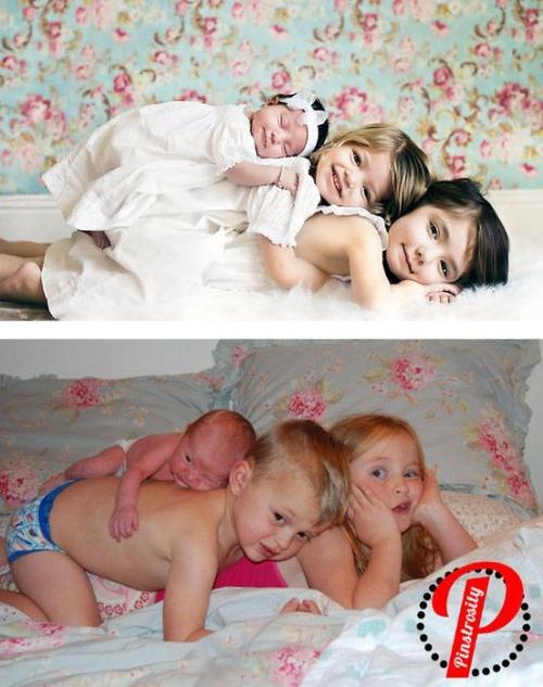 赤ちゃんとの記念撮影の理想と現実の画像(30枚目)