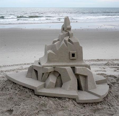 砂で作られた近代的なお城のアートの画像の数々!!の画像(11枚目)