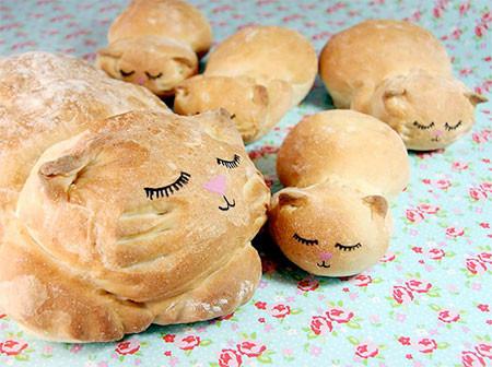 食べるのが可哀そうになる!可愛くてちょっとリアルな動物パンの画像の数々!!の画像(7枚目)