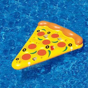 水辺で楽しい!たくさん合体するピザ型のフロートマットが面白い!!の画像(6枚目)
