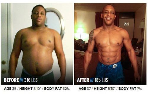 やればデキル!ダイエット肉体改造のビフォーアフターの画像の数々!!の画像(22枚目)