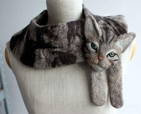 動物をモチーフにしたスカーフの画像(7枚目)