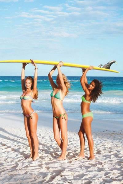 可愛くて魅力的なサーフィンしている女の子の画像の数々!!の画像(11枚目)