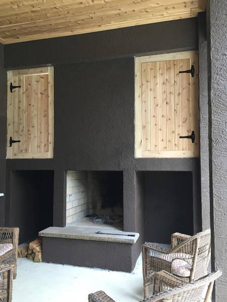 ロマンを感じる!自宅に追加で作った暖炉が凄い!!の画像(13枚目)